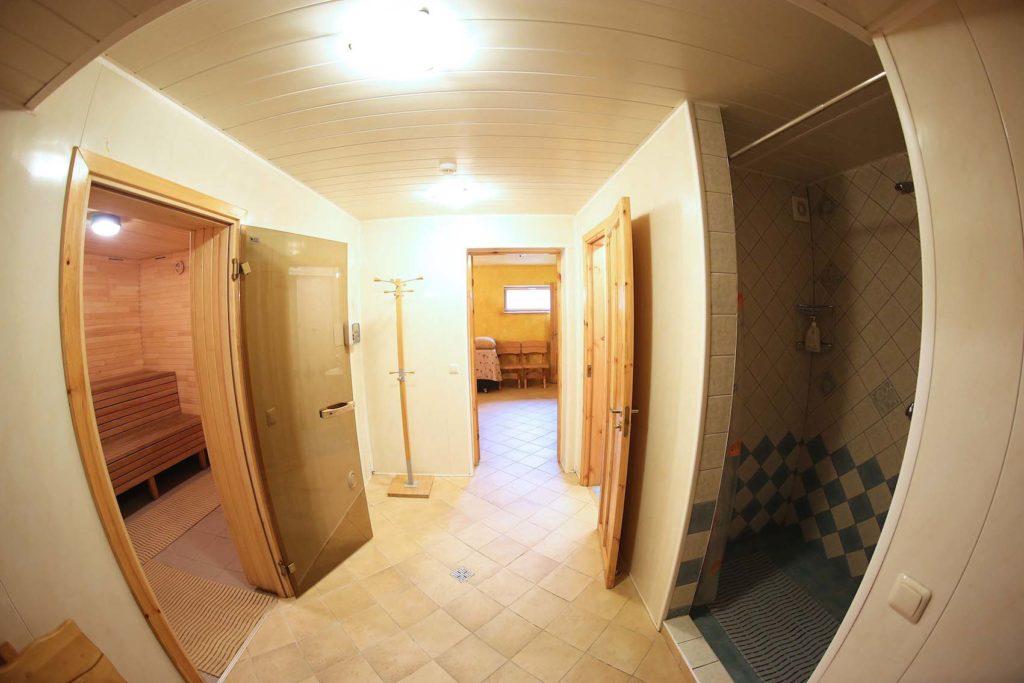 Nr.0 Pusrusis Pagrindinis namas - dusas, wc, sauna