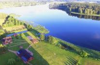 Vila / moderni kaimo turizmo sodyba prie Virintų ežero Molėtų rajone