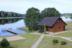 Kaimo turizmo sodyba Pas Sestoka pirties kubilo nameliu nuoma prie ezero Moletu rajone