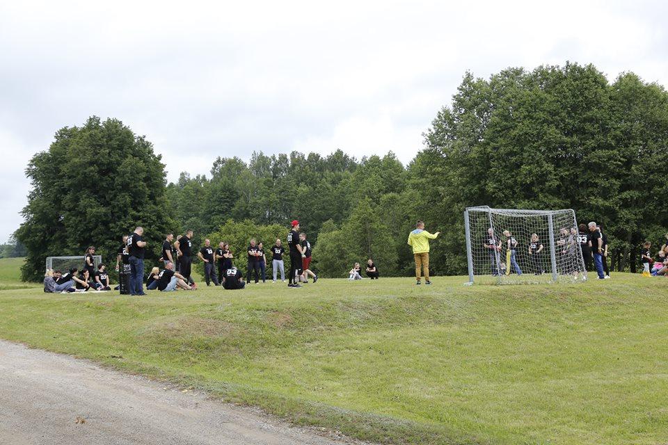 futbolo aikstele sodyboje pas sestoka