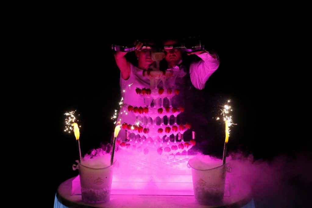šampano piramidė jūsų šventei - puikus pasirinkimas