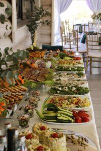 Furšetas. Maistas vestuvėms